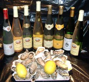 Une large palette de vins blancs secs.