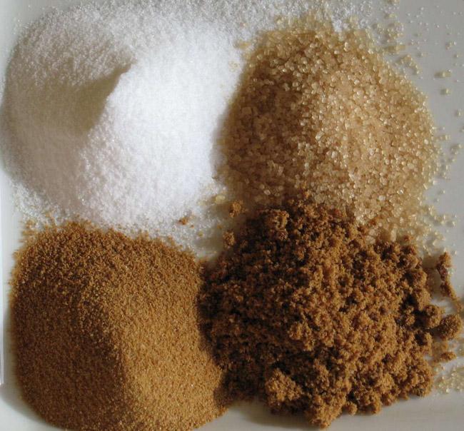 sucre brun et mélasse
