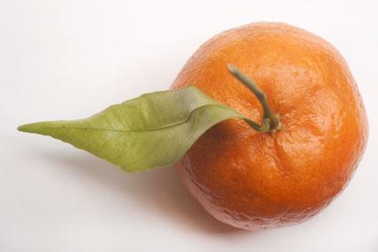 Un agrume et ses vitamines C