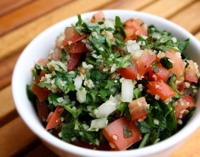 Taboulé, plat oriental