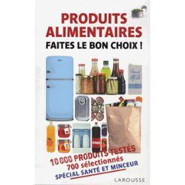 produits alimentaires livre