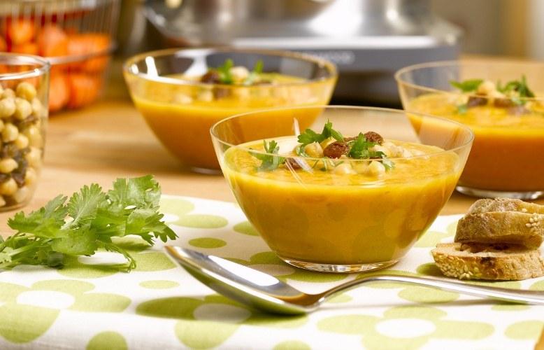 soupes et légumes secs