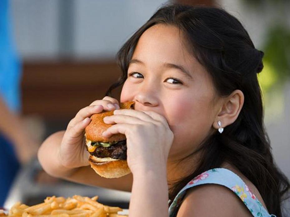 enfant fast food