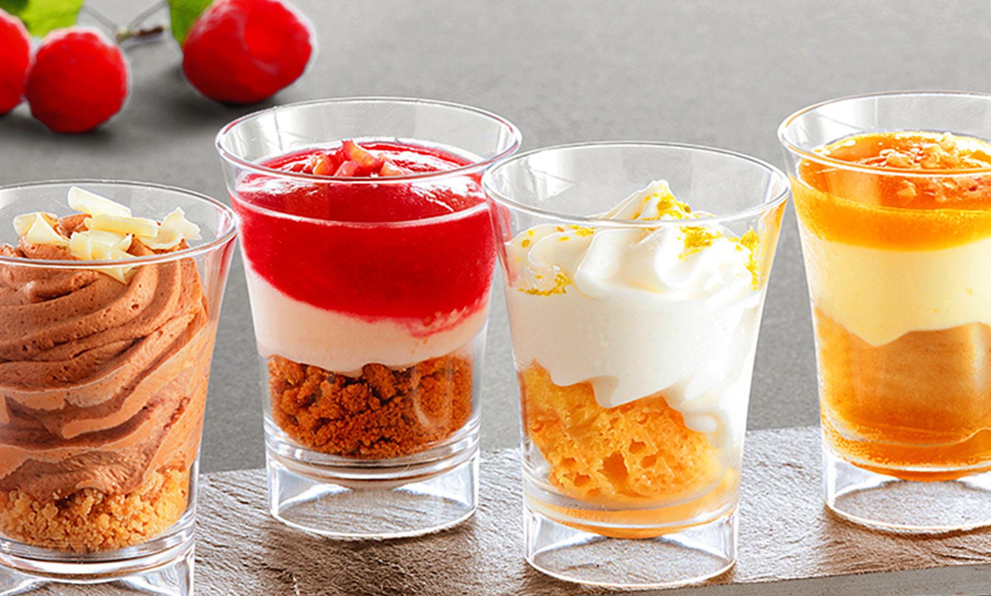 verrines entrées et desserts