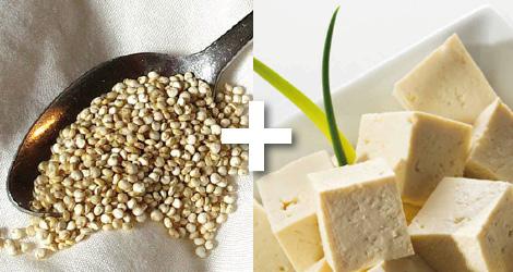croquettes quinoa tofu