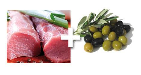 porc olives