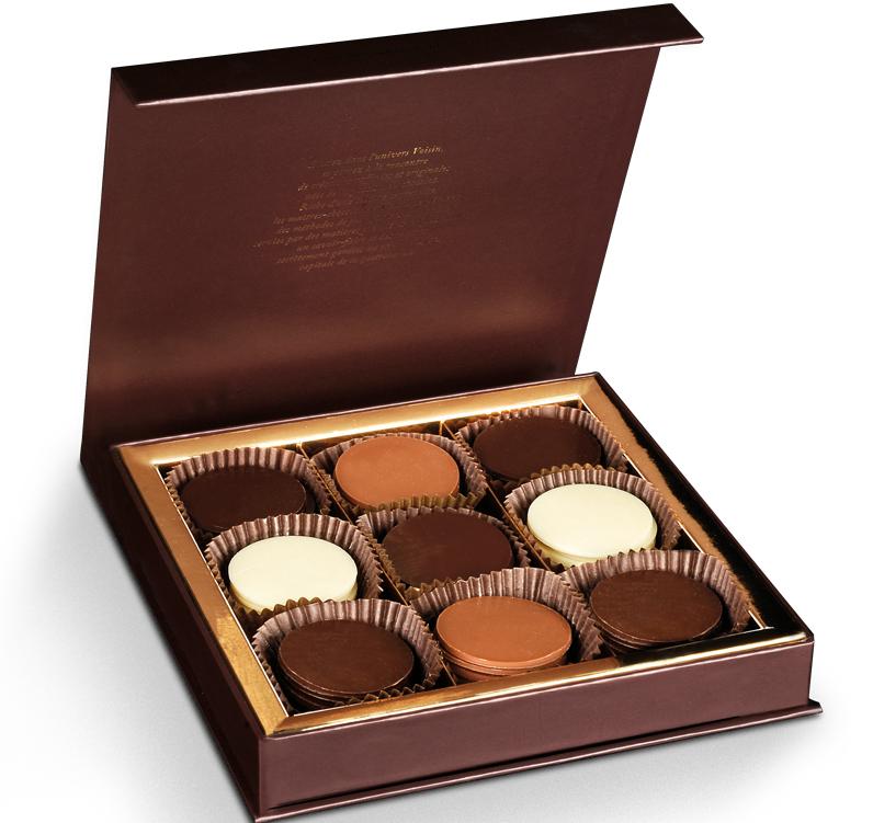 chocolat boîte