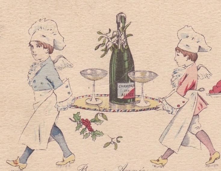 champagne en cuisine