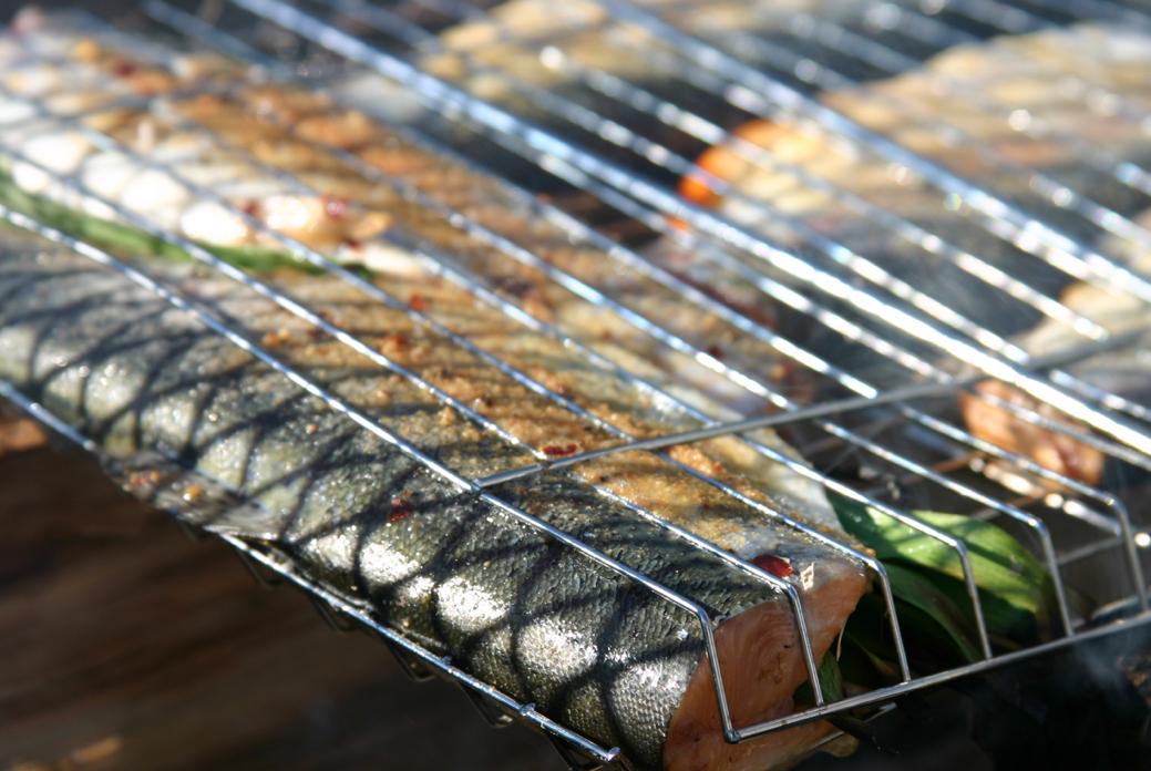 cuisson poisson grill