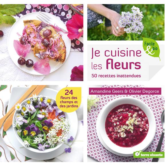 cuisine fleurs