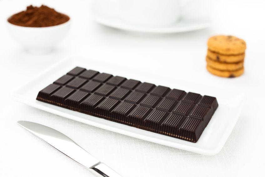 chocolat plaquette