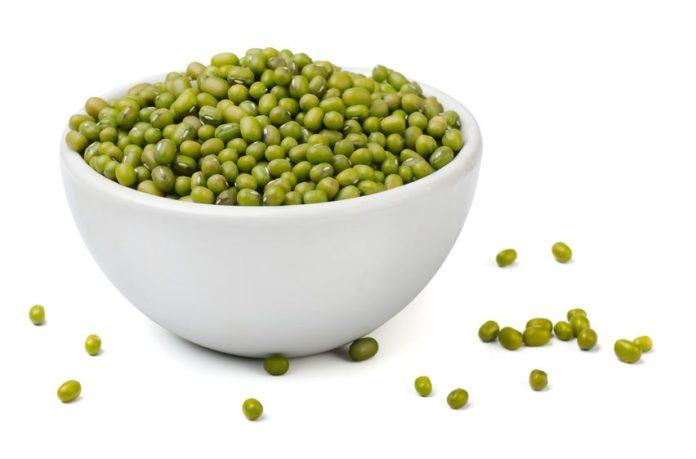 haricots mungo ou soja vert