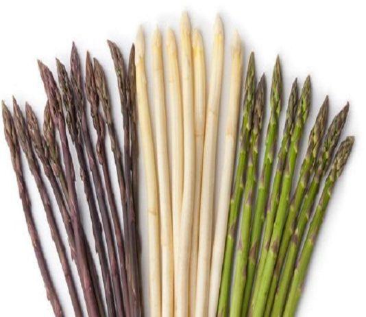asperges couleur