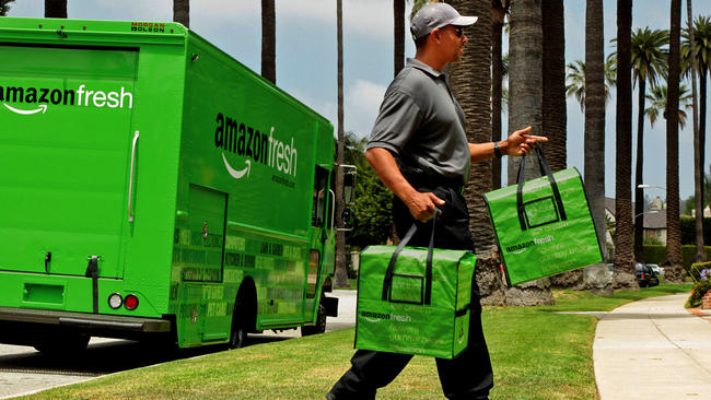 livraison express produits alimentaires
