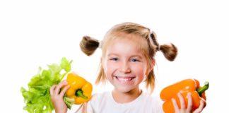 enfants et légumes