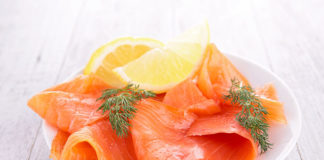saumon bio pollué