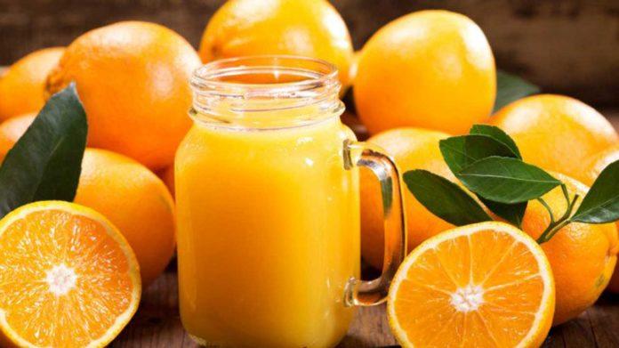 orange jus ou orange entière