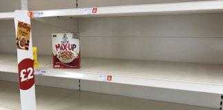 pénurie alimentaire