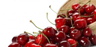 fruits rouges cerises