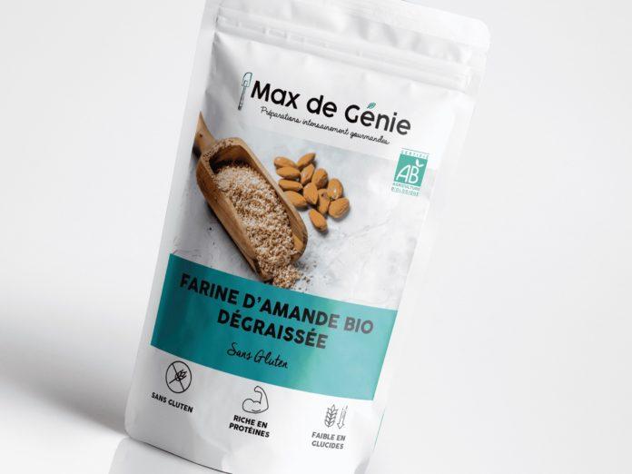 farine d'amande marque française Max de Génie