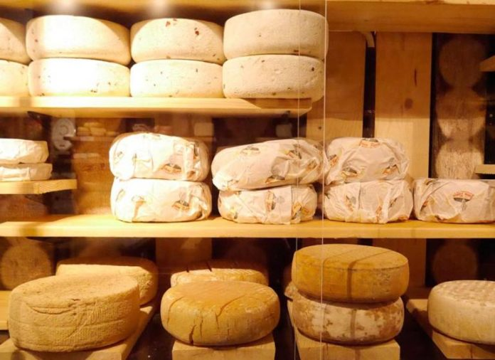 fromages lait cru
