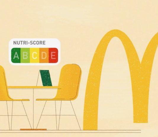 McDonalds Nutri score